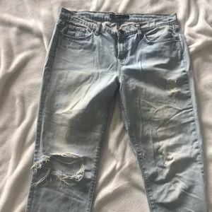 J brand Straight Leg Light Wash
